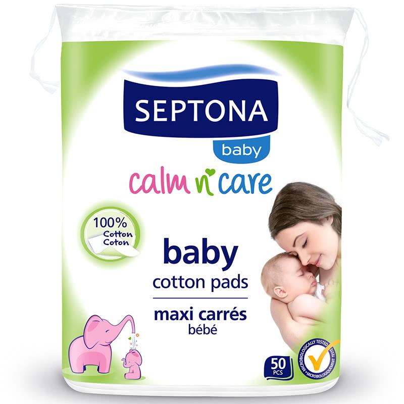 Бебешки тампони за почистване septona 50бр./оп.