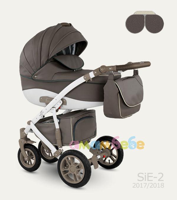 Бебешка количка camarelo sirion eco кожа 2в1