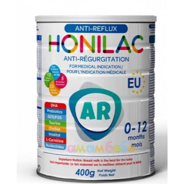 Honilac antireflux formula - адаптирано мляко против повръщане 0-12 м 0 400 кг